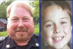 Former Pelham, Mass., Police Chief Edward Fleury and Christopher Bizilj 8