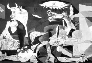 "Detail from ""Guernica"" by Pablo Picasso"