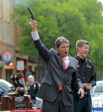 Image result for rick perry drunk revolver