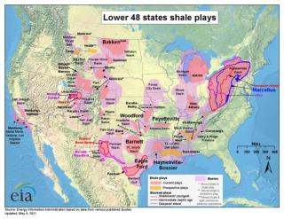 Hydraulic Fracturing of Shale Gas Deposits